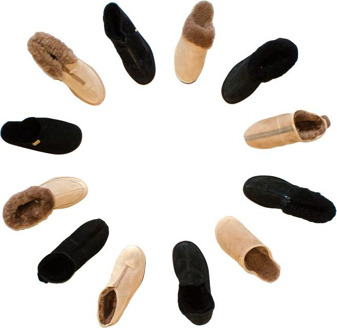Pantoffels-Rond